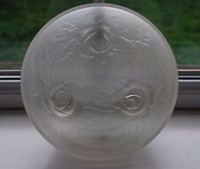 Vintage JOBLING Art Deco 1930's Lalique Style Frosted Glass Vase    #5000