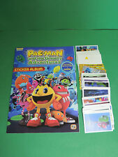 PAC-MAN : Album d'image vide + full set Complet sticker Giromax 2012 - No panini