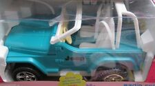 Barbie Car Radio Control Jeep Wrangler Vehicle Working Lights Vintage Year  2000