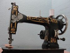 HEAVY DUTY INDUSTRIAL STRENGTH WHITE ROTARY SEWING MACHINE-ALL STEEL