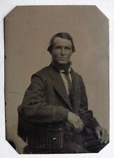 FERROTYPE PHOTO ANCIENNE PORTRAIT HOMME O965