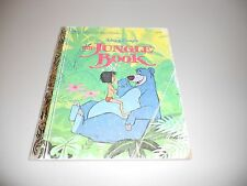 Walt Disney's The Jungle Book-Little Golden Children's Book