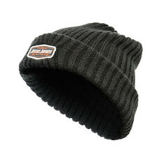 West Coast Choppers Jesse James Logo Sturdy Knitted Beanie Hat - Black