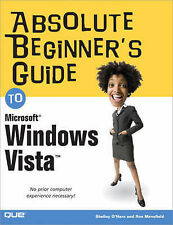 Absolute Beginner's Guide to Microsoft Windows Vista (Absolute Beginner's Guides