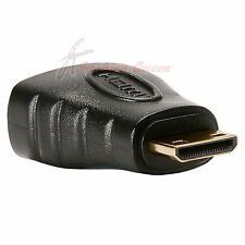New HDMI Female to Mini HDMI Type C Male Adapter Convertor Connector HD TV 1080p