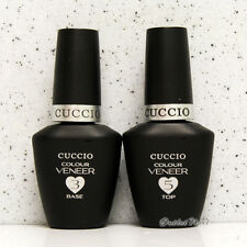 CUCCIO Colour Veneer - BASE & TOP COAT LED/UV Gel Polish Match Makers Kit Set