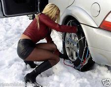CATENE DA NEVE omologate per auto 9mm pneumatici 215/65R16 215 65 16 2156516