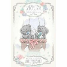 ME TO YOU TO A SPECIAL SON AND DAUGHTER-IN-LAW ANNIVERSARY CARD TATTY TEDDY BEAR