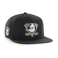 Anaheim Mighty Ducks '47 Brand NHL Vintage Hockey Snapback Hat Cap - Flat Brim