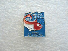 PIN'S THE RED FISH ALASKA SALMONS PINS PIN ALIMENTATION SAUMON POISSON  P16