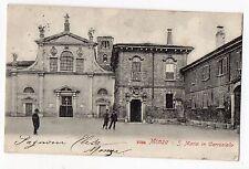 CARTOLINA 1903 MONZA S. MARIA IN CARROBIOLO RIF. 11463