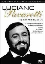 Luciano Pavarotti - The Man And His Music DVD Legends In Concert
