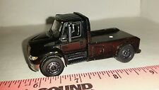 1/64 CUSTOM international prostar flatbed show 5th wheel TRUCK ERTL toy DISPLAY