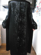 Pianoforte di Max Mara  Black Velvet Opera Coat Cape Dramatic Sz 38 USA 4