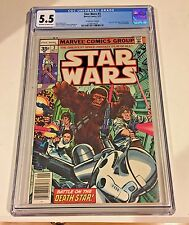 Star Wars #3 CGC 5.5  35 cent Price Variant Marvel 1977 New Hope Part 3 comic