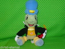 "Disney JIMINY CRICKET Snap Bean Bag Plush Stuffed Animal Pinocchio 10"" tall"
