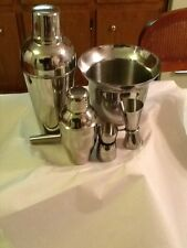 Bartender 5 pcs Stainless Steel set Drink Mixer and Ice Bucket