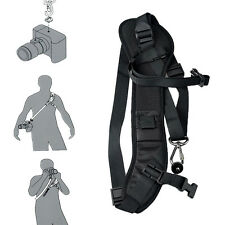 Focus F-1 Quick Rapid Shoulder Sling Neck Strap Belt  For DSLR SLR Camera Black