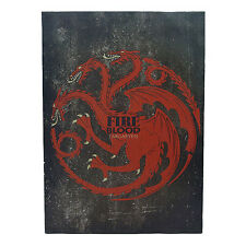 Game of Thrones * Targaryen Canvas Sigil Banner * 18 x 13 Fabric Poster Print
