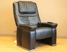 RMS-14 Leather Get-A-Way Human Touch Massage Recliner - Massaging Chair Only