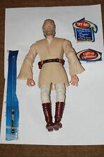 "Obi Wan Kenobi Electronic 12"" Figure-New-Hasbro-Star Wars  Customize Side Show"