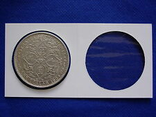 PCCB Coin Holder 40mm 50pcs/box - For silver crown coins..