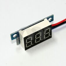 Mini DC 0-200V 3-Wire Voltmeter Red LED Display Volt Meter Digital Panel Meter