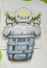 Shirt Woot Star Wars Yoda Backpack Dagobak Piggyback Riding - T Shirt S