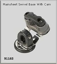 NAUTOS J24 91165 - DECK HARDWARE - SWIVEL BASE WITH ALUMINUM CAM - BY NAUTOS