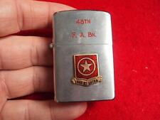 Korean War 7th Infantry Division, 48th Field Artillery Battalion lighter