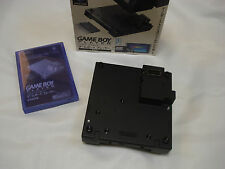GameCube Game Boy player noir adaptateur modifié + start up disc cd coffret