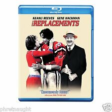 THE REPLACEMENTS BLU-RAY - KEANU REEVES - GENE HACKMAN - AUTHENTIC US RELEASE
