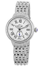 """GV2 by Gevril Women's 9100 """"Astor"""" DIAMOND Studded Stainless Steel Watch"""