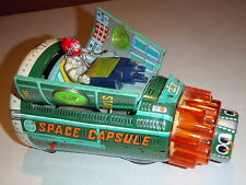 Vintage Tin NASA SPACE CAPSULE SH MADE IN JAPAN
