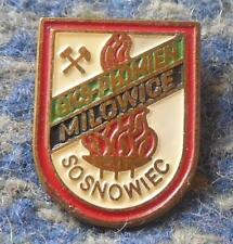 PLOMIEN MILOWICE SOSNOWIEC POLAND VOLLEYBALL CLUB 1970's PIN BADGE