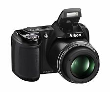 Nikon Coolpix L330 Digital Camera 20.2MP BLACK 26x Optical & HD Zoom!