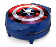 Marvel MVA-278 Captain America Shield Waffle Maker, Blue by Marvel MVA-278