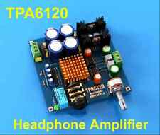 12V-20V Audiophile-level HIFI TPA6120 Headphone Amplifier AMP Board DIY Kit Dual
