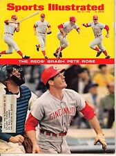 1968 (May 27) Sports Illustrated Baseball magazine, Pete Rose Cincinnati Reds~Gd