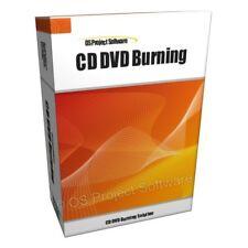 CD DVD Burn Brucia software per PC Mac OS X