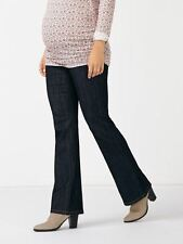 """NWT Thyme Slender Flared Maternity Jean Tall Denim Inseam 33""""Size XS/TP MSRP $69"""