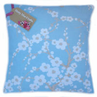 Designer Laura Ashley Lori Duck Egg Blue fabric Cushion Cover