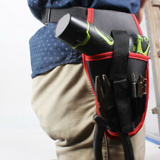 Oxford Drill Waist Belt Bag Portable Drill Holder Holster Pouch Cordless Tools