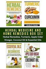 Herbal Medicine and Home Remedies Box Set : Herbal Remedies, Turmeric, Apple...