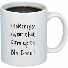Funny Coffee Mug | I Solemnly Swear I Am Up To No Good -Harry Potter  Coffee Mug