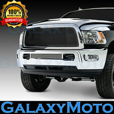 13-17 Dodge RAM Truck 2500+3500+HD Black Billet Grille+Replacement+Chrome Shell