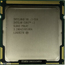Intel Core i3-550 Processor  4M Cache, 3.20 GHz 2 CORES WARRANTY TESTED SALE