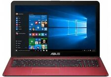 "ASUS 15.6"" Laptop N3050 1.60 GHz 4GB 500GB HDD Windows 10 Home - Red"