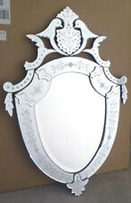 Venetian Art Deco Wall Mirror 34x24