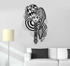 Vinyl Decal Sexy Gothic Joker Girl Abstract Decor Wall Stickers (ig1762)